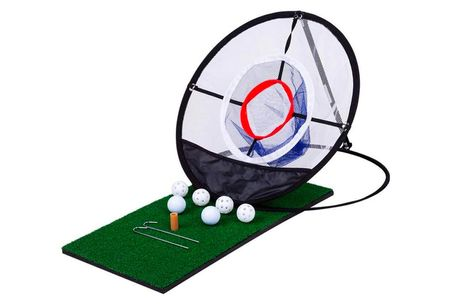 £16.99 for a golf chipping practice net from Wish Whoosh Offers!