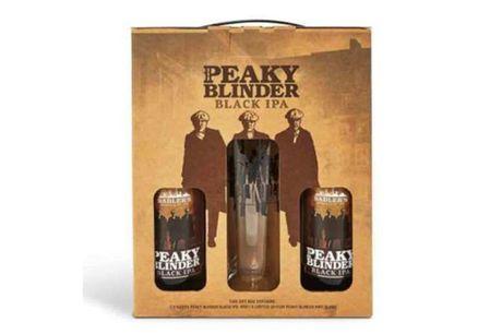 £6 for 2 x 500ml bottles of Sadlers Peaky Blinder Black IPA and a Peaky Blinder branded 1/2 pint glass from Sadler's Peaky Blinder Distillery