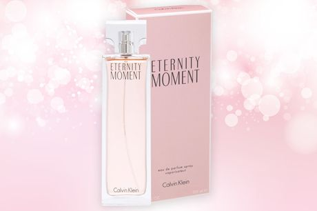 £17.50 instead of £68 for a 100ml bottle of Calvin Klein Eternity Moment eau de parfum from The Perfume Stop - save 74%