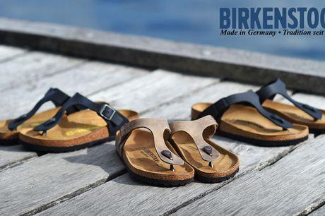 Restsalg: Sandaler fra Birkenstock. Sandalerne over alle sandaler – FÅ TIL SALG! Inkl. fragt!