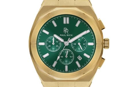 Paul Rich Motorsport Green Gold Steel