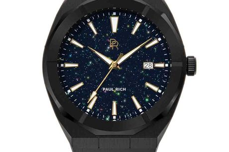 Paul Rich Star Dust Black Automatic
