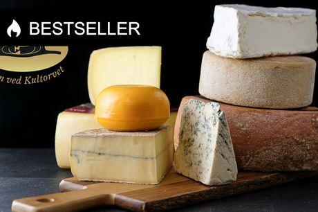 Frit valg hos Osten ved Kultorvet. NYHED: Bestil Økologiske og biodynamiske oste i særklasse direkte fra webshop