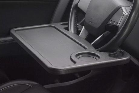 £10.99  for a steering wheel desk