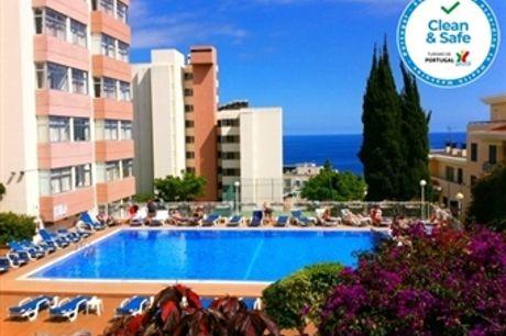 MADEIRA: 2 Noites no Funchal no Bungavília Studio Hotel, Voo de Lisboa, Porto ou Faro, Transferes e Seguro desde 393€.