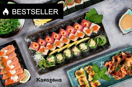 Sushi i særklasse. Kokken har arbejdet på Michelin-stjernet restaurant