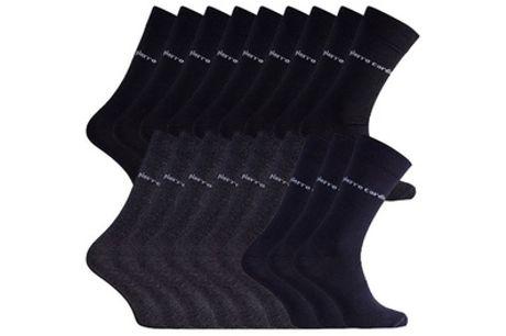 Set van 18 tot 30 sokken van het merk Pierre Cardin voor heren