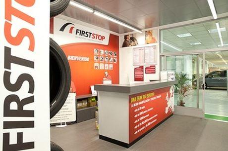 Cambio kit de distribución hasta 1.999 cc con bomba de agua y revisión de seguridad en 32 centros First Stop