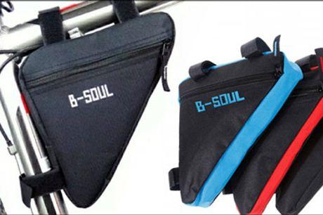 Smart taske til cykelturen - Must-have til cyklen. Handy cykeltaske inkl. fragt, fås i flere farver. Værdi kr. 239,-