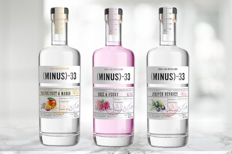 £16 for the choice of a 70cl bottle of Minus 33 spirit from Salder's Peaky Blinder Distillery - choose from 3 flavours!