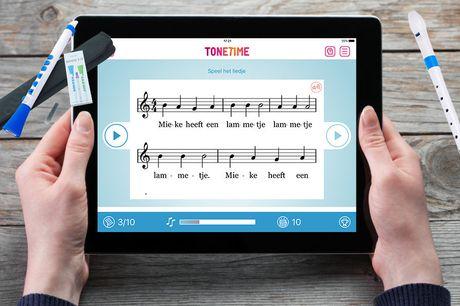 Online muziek cursus incl. instrument Keuze uit blokfuit of DooD<br /> Professioneel lesmateriaal & begeleiding<br /> Na activatie een half jaar geldig