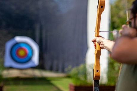 £19 instead of £29 for an archery experience for one person from Into The Blue - choose from 10 locations and save 34%