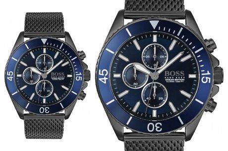 £149 instead of £499.99 for a Hugo Boss men's Ocean Edition chronograph watch from Demand Tic - save 70%