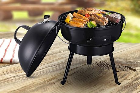 £49 instead of £129 for a compact charcoal grill BBQ from MH Star - save 62%