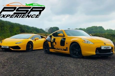 Three- or Six-Lap Sports or Muscle CarDriving Experience at PSR Experience, 11 Locations (Up to 68% Off)