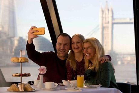 Thames River Sightseeing Cruise with Afternoon Tea