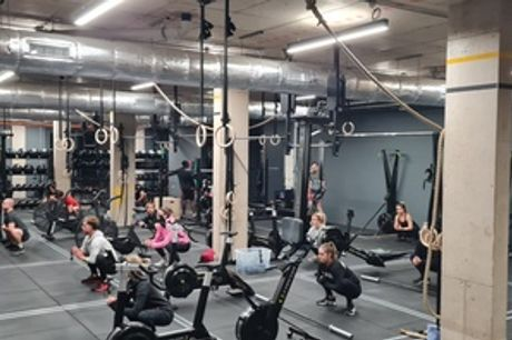 One-Day Class, One-Week or One-Month of Open Gym Pass at The Wick CrossFit (Up to 65% Off)