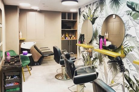 Wash, Cut and Blow-Dry or L'Oréal Perfect Repair Treatment at Tooley's Corner (Up to 68% Off)