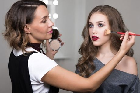 Three-Hour Make-Up Masterclass for One or Two at The Aesthetics Lounge