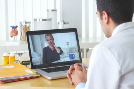 Two 15-Minute Online Physiotherapy Consultations at London Health Hub (76% Off)