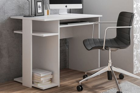 £69 instead of £89 for a Lincoris office desk from Selsey Living - choose from two colours and save 22%