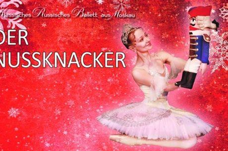 """2 Tickets für """"Der Nussknacker"""" vom Klassischen Russischen Ballett u. a. in Hamburg, Berlin (bis zu 46% sparen)"""
