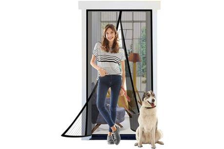One or Two Magnetic Mesh Door Screens