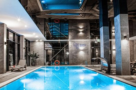 Pommern: Standard-Doppelzimmer für Zwei mit Halbpension im Hotel & Resort Saltic Spa