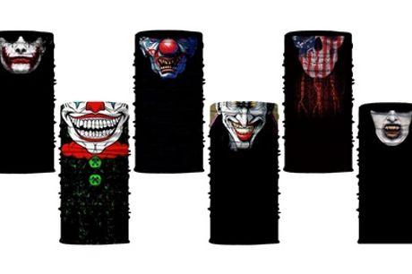 1, 2 o 6 máscaras multifuncionales