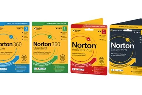 Norton Security Software Range 2021 para 1 o 3 dispositivos durante 1 año
