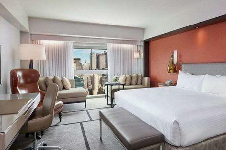 Millennium Hilton New York One UN Plaza - Volledig terugbetaalbaar, New York, Verenigde Staten - save 18%.  We werken samen met de hotels om ervoor te zorgen dat ze voldoen aan de regelgeving op het gebied van de volksgezondheid met betrekking tot COVID-1