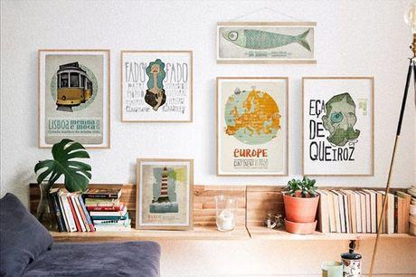 Receba em sua casa este conjunto de 6 posters da Nó Projectos. Ideais para decorar as paredes da sua casa, não espere mais e aproveite agora por apenas 74,9€