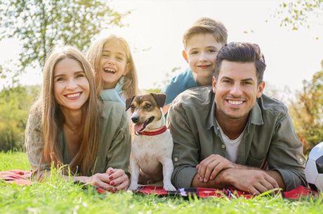 Recorde e eternize os momentos em família com esta sessão fotográfica em família. Para até 4 pessoas, aproveite agora por apenas 29,9€