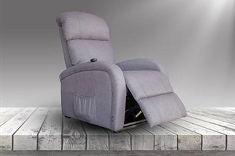 Poltrona de Massagens por Vibração por Zonas com 3 Cores à escolha, Aquecimento Lombar, Inclinação Manual e Comando por 280€. PORTES INCLUIDOS.