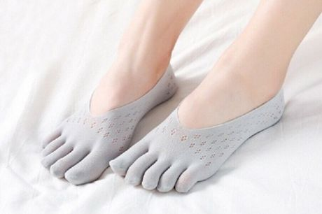 Up to Five Pairs of Anti-Friction Invisible Socks