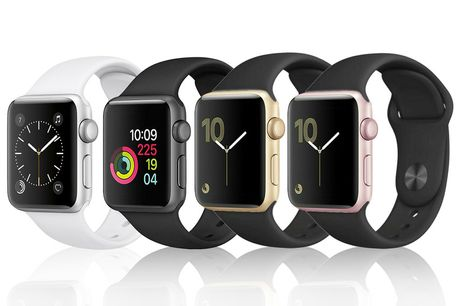 From £75 instead of £299.99 for a refurbished Apple Watch Series 2 38mm or from £89 for a refurbished Apple Watch Series 2 42mm from Renew Electronics - choose from gold, rose-gold, silver or space grey and save up to <DiscountPercentage>2552610%