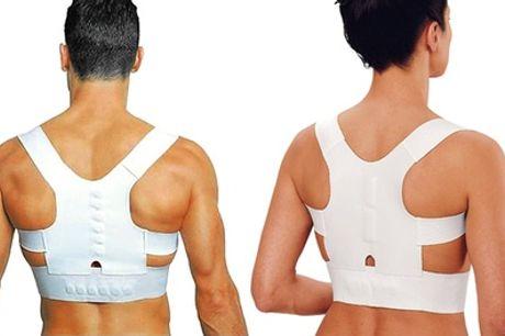 1, 2 o 3 fajas soporte de apoyo con 12 imanes para la postura y la corrección
