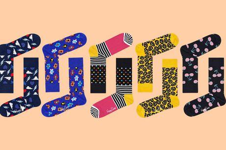 5-pack Happy Socks Ga kleurrijk door het leven met deze vrolijke sokken van Happy Socks. Je ontvangt een pakket met 5 verschillende desings. Daar word je toch blij van?