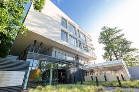 Mielno: Superior-Apartment für Zwei oder eine Familie mit Verpflegung, Sauna und Swimmingpool im Molo Park Aparthotel