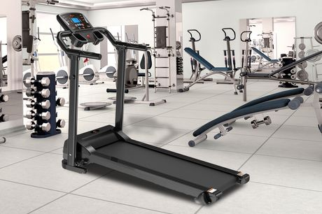 £229 instead of £499.99 for a heavy-duty foldable treadmill from Buyer Empire – save up to 54%