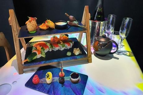 £19 for an interactive afternoon tea at Inamo, £24.95 to include a glass of sparkling wine, or £29.95 including one-hour 'bottomless' sparkling wine - choose from two locations and save up to 54%