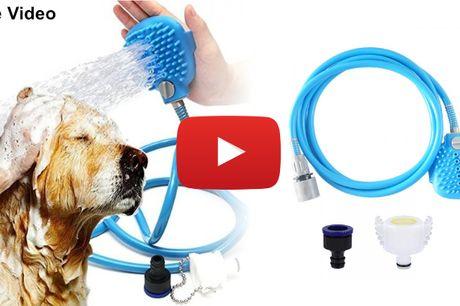Håndbruser til hundebadet – gør badet hurtigt, effektivt og nemt!