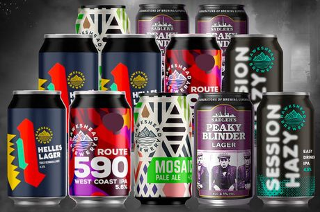 £16 for a crafty can beer selection from Sadler's Peaky Blinder