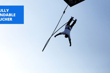 £29 -- 160-foot bungee jump at 9 UK locations, 40% off