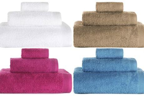 1 o 2 juegos de 3 toallas de baño