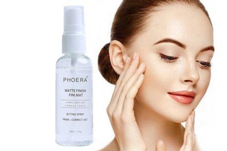 Maquillaje en espray de 50 ml con acabado mate Phoera