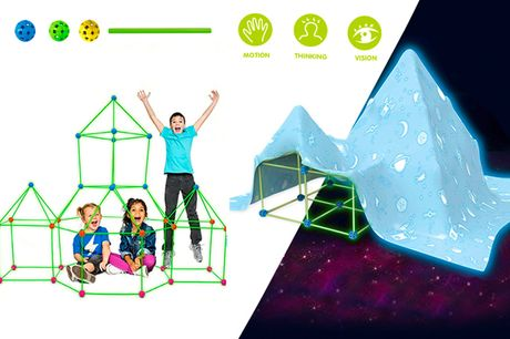 From £10 instead of £39.99 for a kids fort building kit from Forefront - save up to 75%
