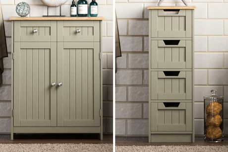 From £29 instead of £62.99 for a Priano freestanding cabinet from Home Discount – choose from six options and save up to 54%