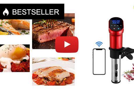 Smart Sous Vide-enhed med WiFi-appkontrol og digital berøringsskærm