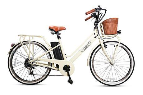 Elektrisk Dame Cykel - 2020 Model - Høj Kvalitets El Cykel med Høj Komfort & Stor Køreglæde